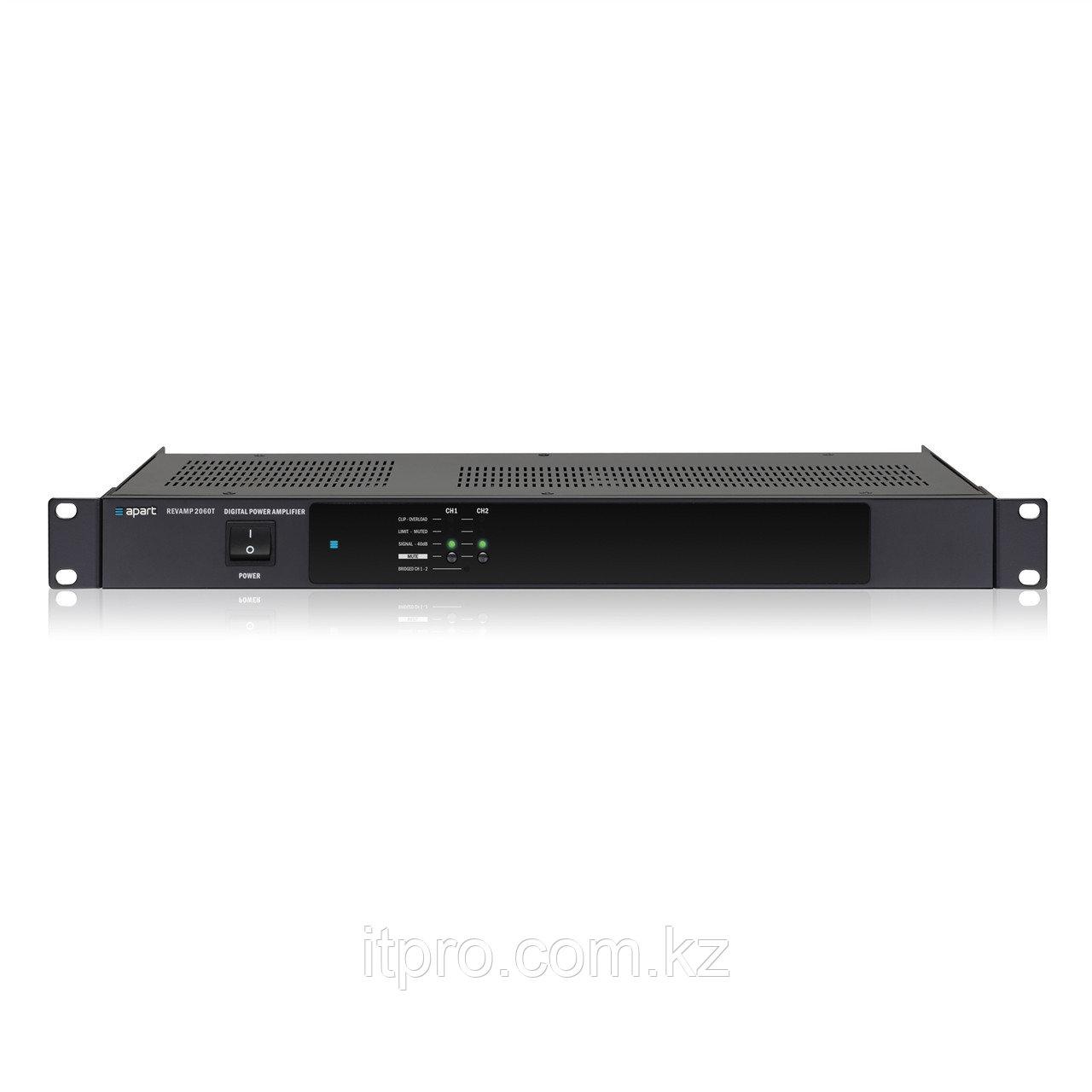 Трансляционный усилитель 2-х канальный Apart REVAMP2060T