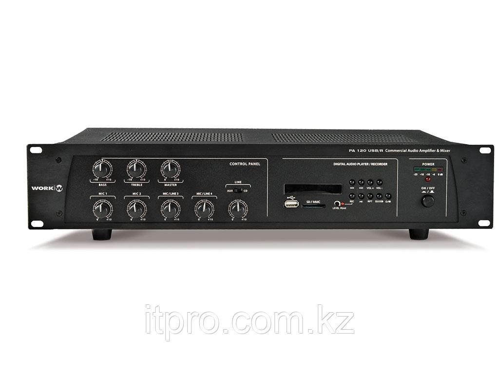 Трансляционный микшер-усилитель Work PA 120 USB/R