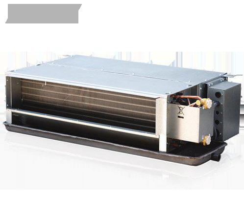 Канальные двухрядные фанкойлы MDV: MDKT2-300 G30 (2.7 кВт / 30 Pa)