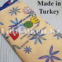 Чехол для гладильной доски DOSE 140х50 см бежевый с цветами