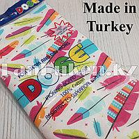 Чехол для гладильной доски DOSE 140х50 см перья