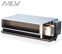 Канальные двухрядные фанкойлы MDV: MDKT2-400 G30 (3.6 кВт / 30Pa)
