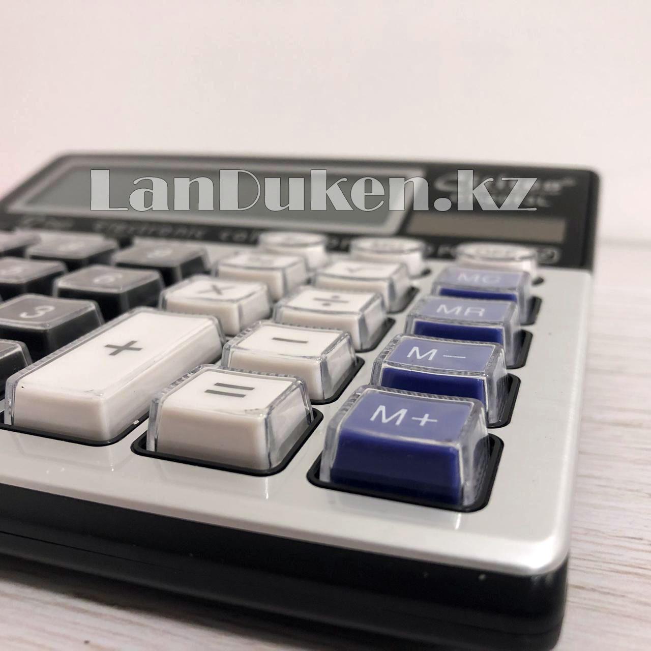 Калькулятор настольный 12-разрядный Cititon CT-2013L - фото 3