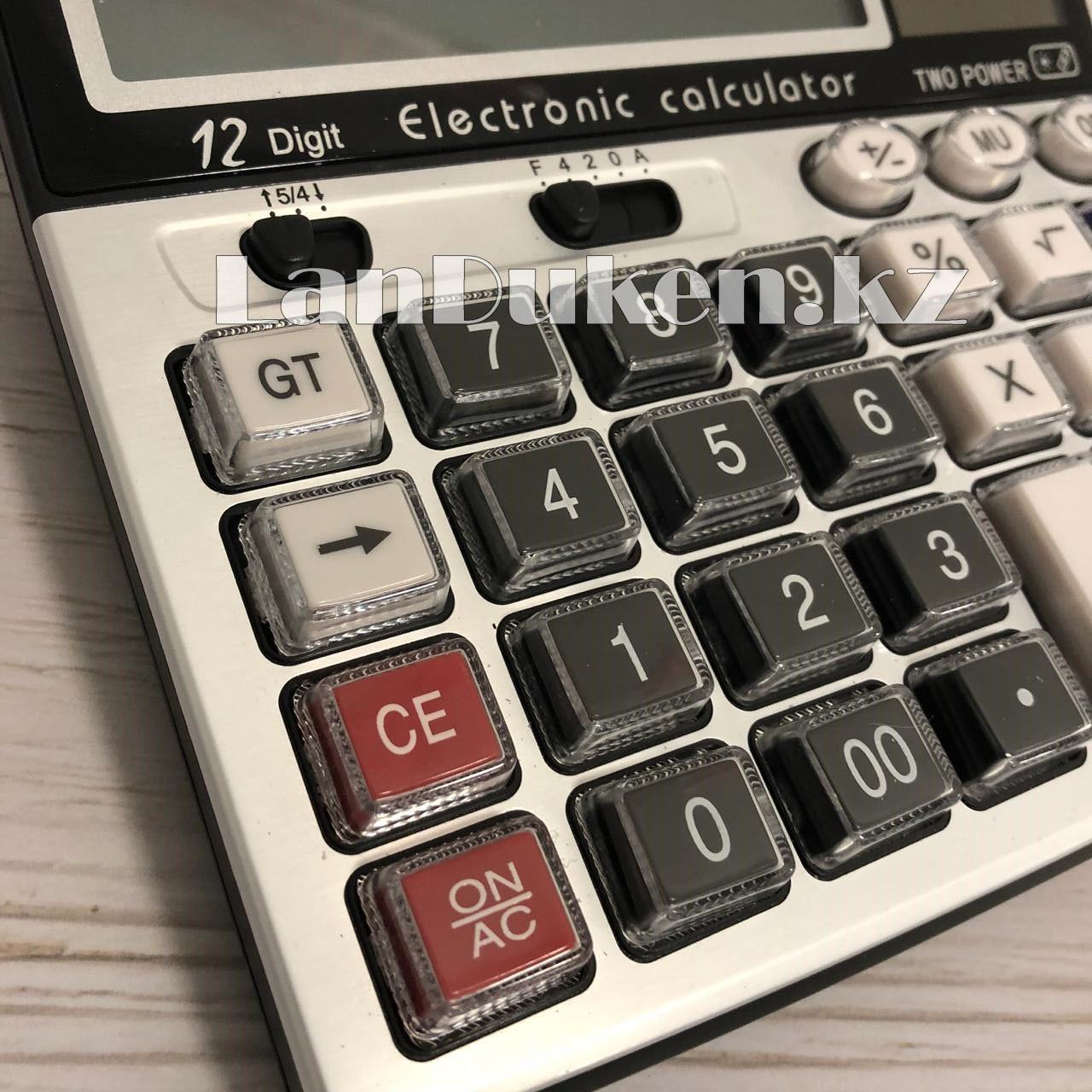 Калькулятор настольный 12-разрядный Cititon CT-2013L - фото 8