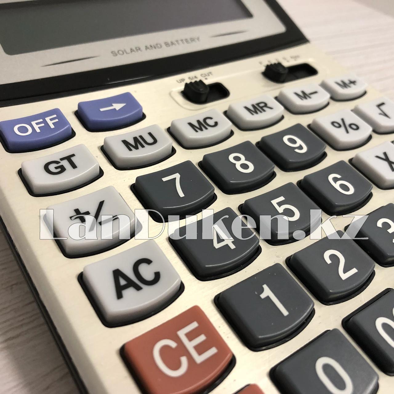 Калькулятор настольный 12-разрядный Cayina CA-6600H - фото 6