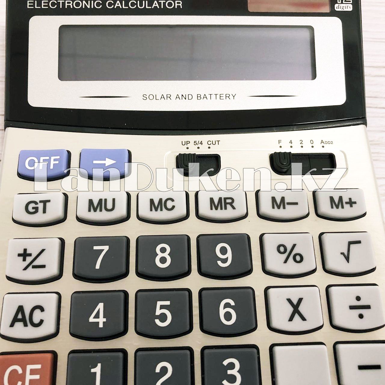 Калькулятор настольный 12-разрядный Cayina CA-6600H - фото 3