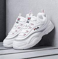 Кроссовки Fila Ray White размеры 36-40