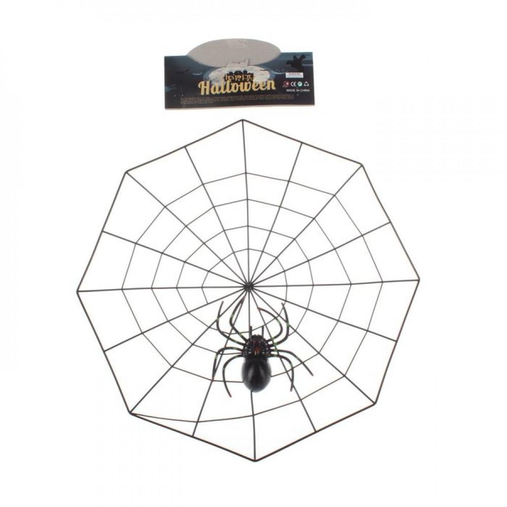 Прикол. Паутина с пауком
