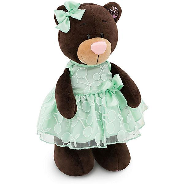 Мягкая игрушка медведь Milk Вишня и Мята, 30 см.