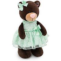 Мягкая игрушка медведь Milk Вишня и Мята, 25 см.