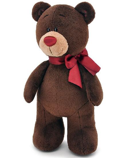 Мягкая игрушка медведь Choco стоячий, 30 см.