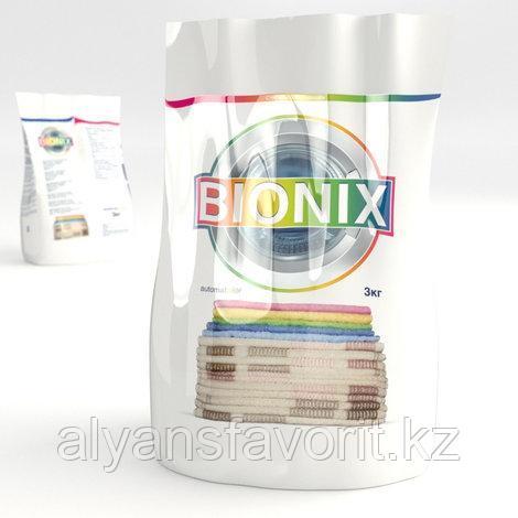 """Стиральный порошок """"BIONIX"""" колор-автомат, 3 кг."""
