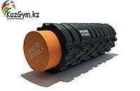 Цилиндр массажный 33 x 14 см черный двойной, фото 1