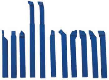 Набор токарных резцов с напайными пластинами 11 шт. 10 мм