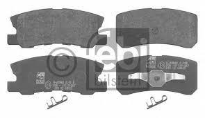 Тормозные колодки Febi Mercedes-Benz, тежегішінің алдыңғы жағы Febi Mercedes-Benz - фото 3