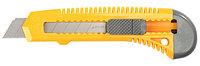"""Нож STAYER """"STANDARD"""" с выдвижным сегмент. лезвием, пластмасс.,18мм"""