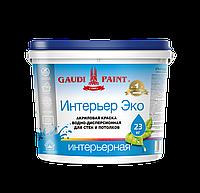 ИНТЕРЬЕР ЭКО Краска интерьерная Водно-дисперсионная  14 кг