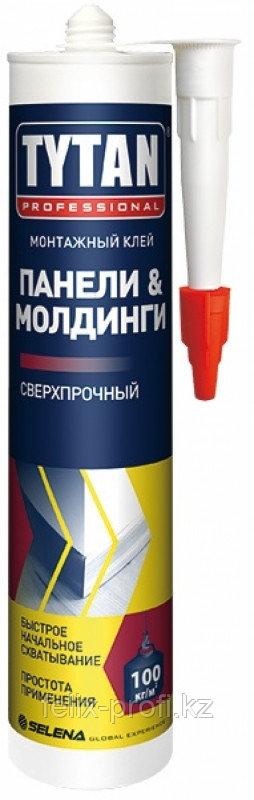 TYTAN клей монтажный для панелей и молдингов (310 мл) бежевый