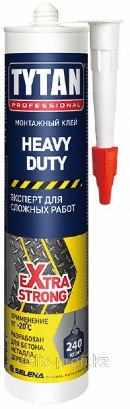 TYTAN Монтажный клей HEAVY DUTY (310мл.) бежевый
