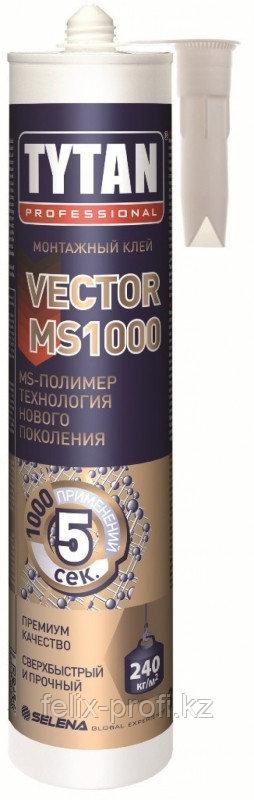 TYTAN Монтажный клей VEKTOR MS 1000 (290мл.) белый