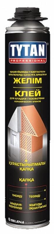 TYTAN Professional  Клей для кладки газобетона керамических блоков (750мл), серый