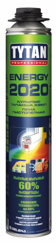 TYTAN Professional пена пистолетная Energy 2020 (750мл), желтый