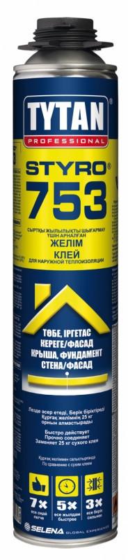 TYTAN STYRO 753 клей для наружной теплоизоляции (750мл) голубой