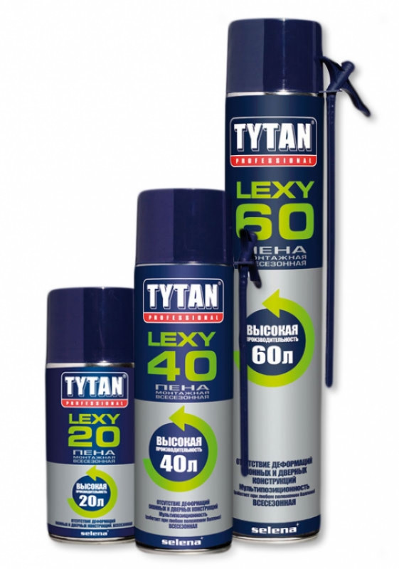 TYTAN пена СТД О2 LEXY 60 всесезонная  (750 мл)