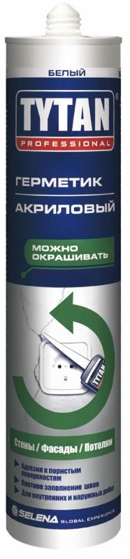 TYTAN герметик акриловый (310 мл) белый