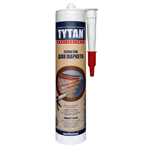 TYTAN герметик для паркета (310мл) махагон