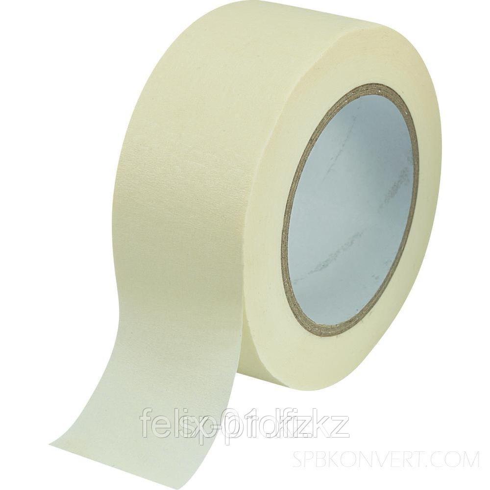 HAUSER лента маскировочная белая 30 мм х 40 м