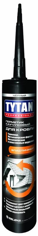 TYTAN герметик каучуковый для кровли (310 мл) черный