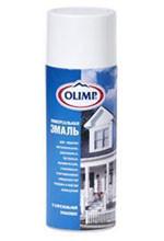 OLIMP Эмаль аэрозольная матовая белая (520 мл; 12шт)