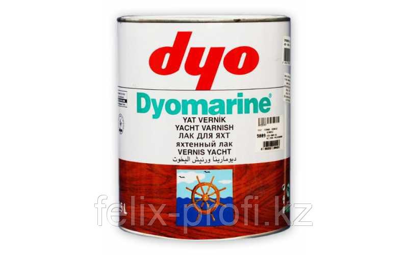 DYO MARINE лак яхтный,матовый 2,5 л.