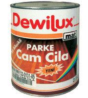DEWILUX лак паркетный, полуматовый 2,5 л.
