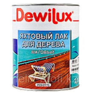 DEWILUX лак яхтный глянцевый 6375, 2,5л, каштан