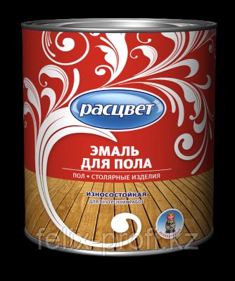 Расцвет для пола красно-коричневая 1.9 кг