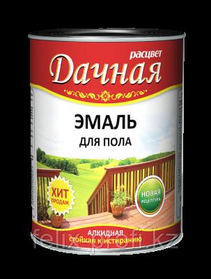 Расцвет для пола Дачная золотисто-коричневая 2,7 кг