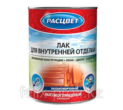 Расцвет лак для внутренней отделки алкидный 1.9 кг
