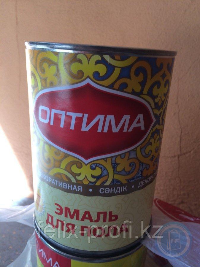 Оптима для пола золотисто-коричневая 2.7 кг