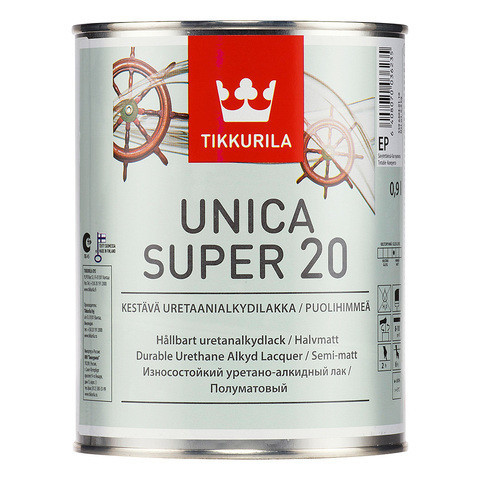 UNICA SUPER 60 EP лак п/мат 2.7л