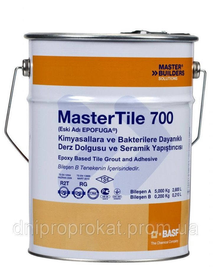 MasterTile EPO 700 / (EPOFUGA) заполнитель для швов на эпоксидной основе, белый 5,2кг