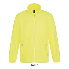 Флисовая кофта мужская North | Sols | Neon yellow