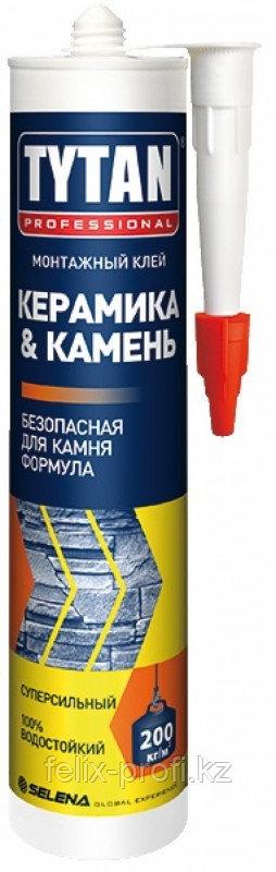 TYTAN Монтажный клей Керамика & Камень (310мл.) белый