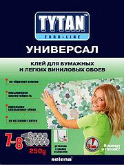 Tytan Euro-Line клей для бум. и легк. винил.обоев УНИВЕРСАЛ (250 г), белый