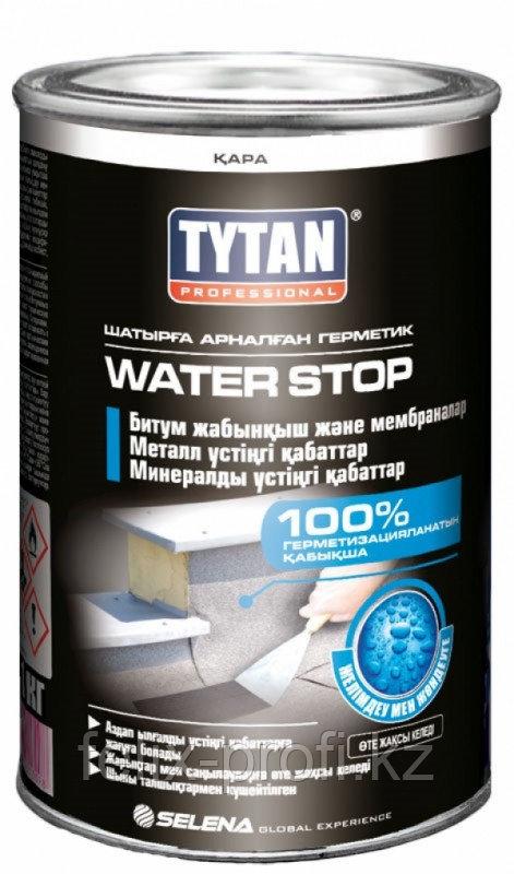 Tytan Битумная паста СТОП ВОДЕ (1 кг) черный