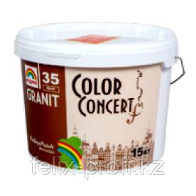"DECOR GRANIT ""Color Concert"" Р-35 ПИАНО БЛЭК (15)"
