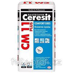Ceresit CM 11 PLUS Клей для крепления керамической плитки размером до 40х40 см, 25 кг