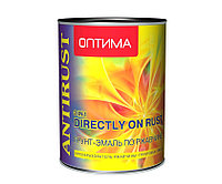 """Грунт-эмаль по ржавчине 3в1 """"ОПТИМА"""" синяя 2,7 кг"""