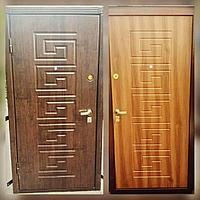 Дверь стальная с МДФ с двух сторон